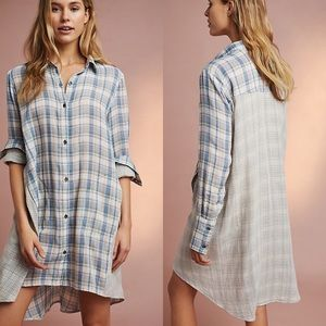 Saturday Sunday Two-Tone Plaid Sleep Shirt